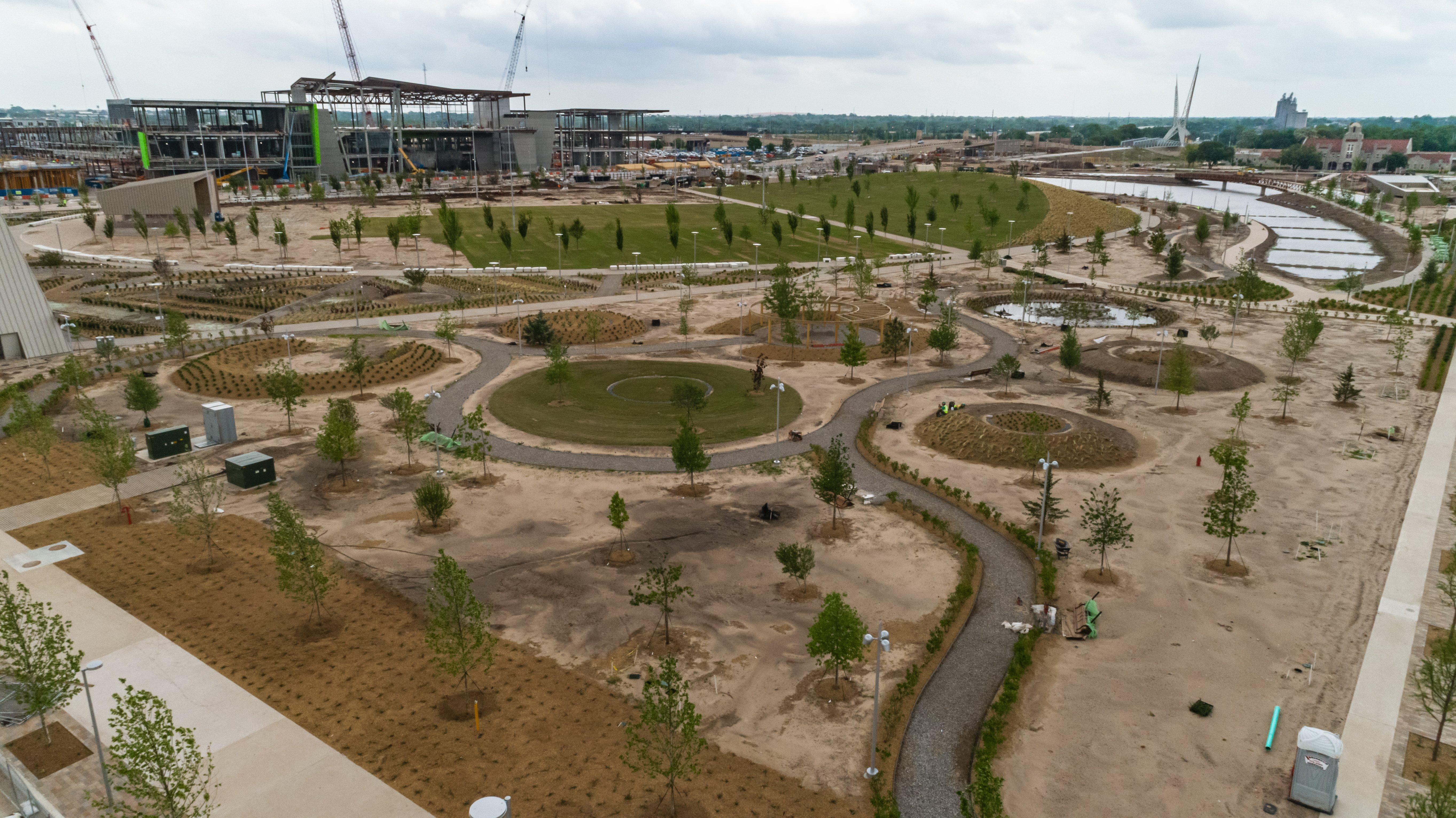 Innovative irrigation keeps Scissortail Park 'green'