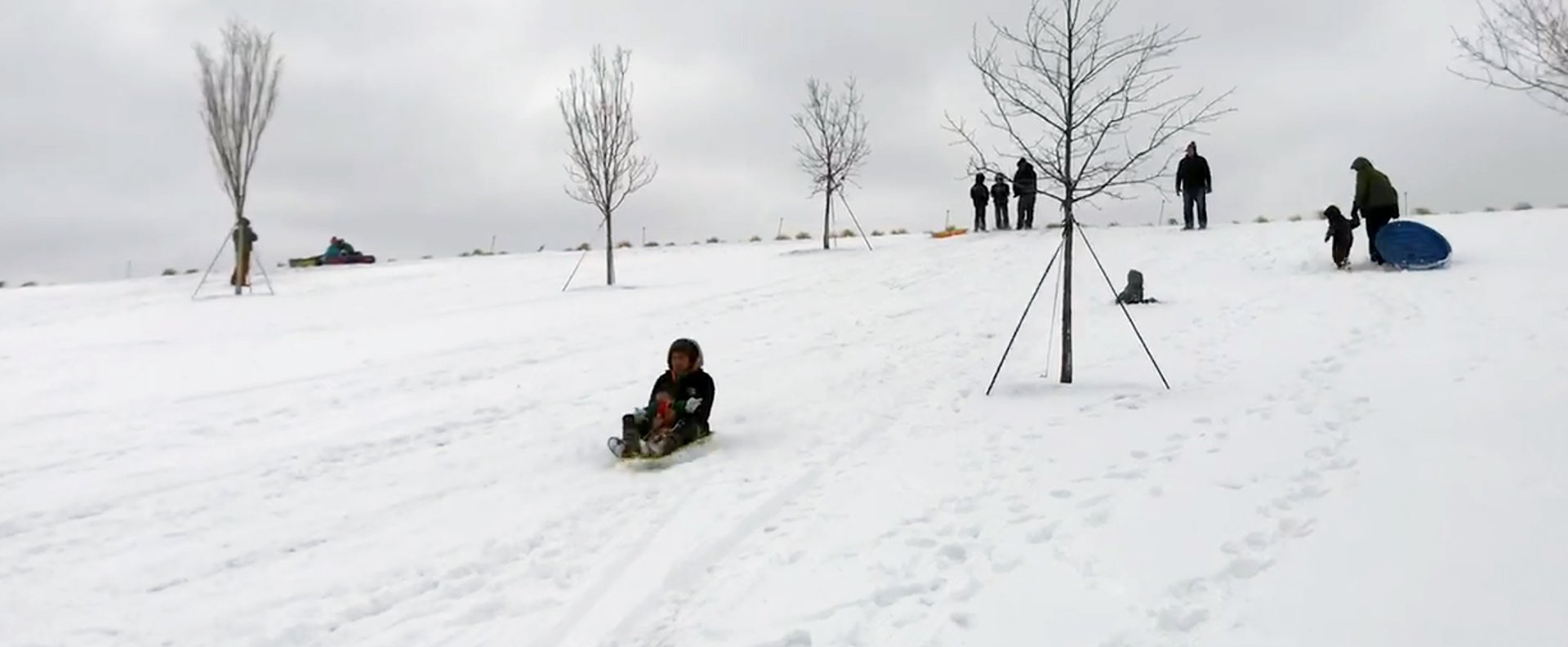 Snow Day Play at Scissortail Park