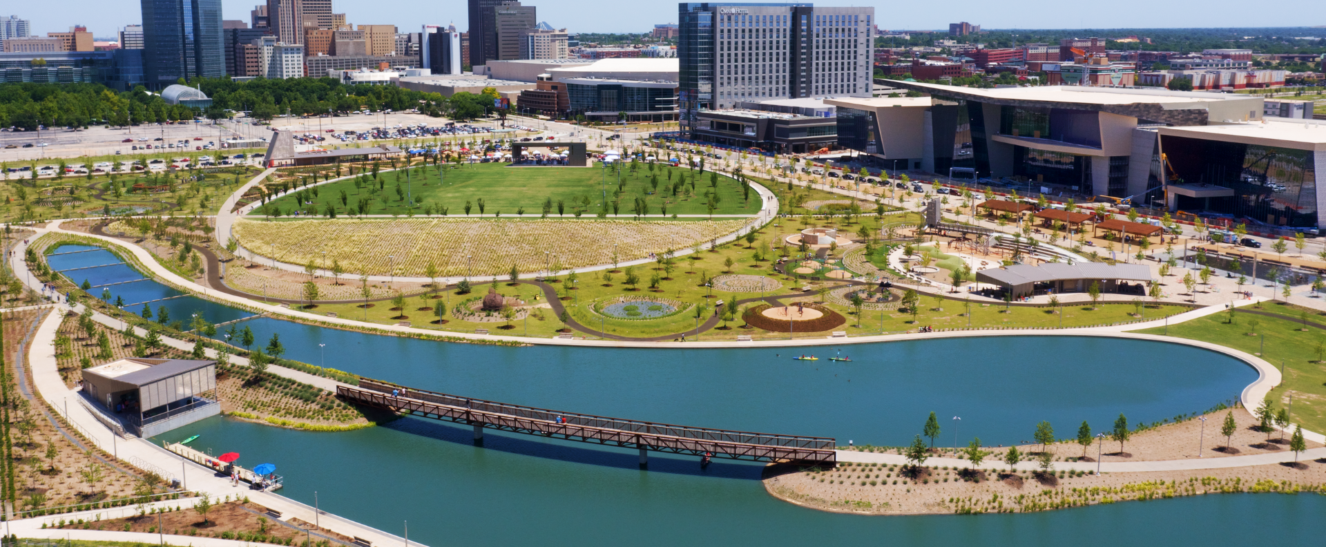 Oklahoma City's MAPS 3 Scissortail Park earns national and regional engineering awards